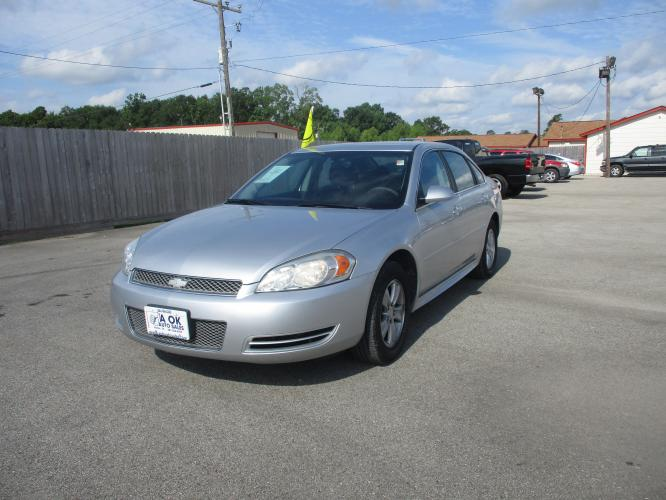 2013 Silver /Gray Cloth Chevrolet Impala LS (Fleet) (2G1WF5E31D1) with an 3.6L V6 DOHC 16V FFV engine, 6-Speed Automatic transmission, located at 23980 F.M 1314, Porter, TX, 77365, (281) 354-3355, 30.104134, -95.249527 - Photo #0