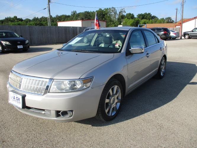 2007 Gray /GRAY LEATHER Lincoln MKZ FWD (3LNHM26T67R) with an 3.5L V6 DOHC 24V engine, 6-Speed Automatic Overdrive transmission, located at 23980 F.M 1314, Porter, TX, 77365, (281) 354-3355, 30.104134, -95.249527 - Photo #0
