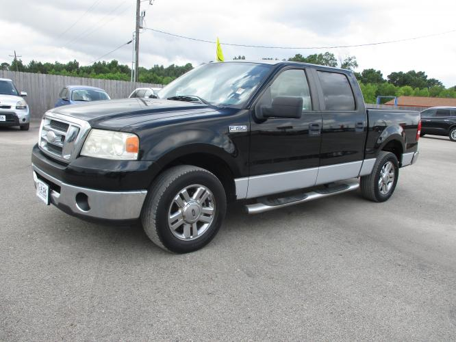 2008 Ford F-150 Lariat SuperCrew 2WD (1FTRW12W28F) with an 4.6L V8 SOHC 16V engine, 4-Speed Automatic Overdrive transmission, located at 23980 F.M 1314, Porter, TX, 77365, (281) 354-3355, 30.104134, -95.249527 - Photo #0